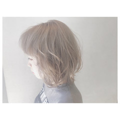 アウトドア ストリート デート ボブ ヘアスタイルや髪型の写真・画像