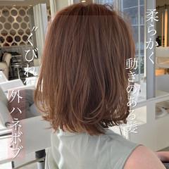 ボブ 外ハネボブ 前下がりボブ レイヤーボブ ヘアスタイルや髪型の写真・画像