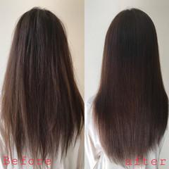 髪質改善 ナチュラル 髪質改善トリートメント デート ヘアスタイルや髪型の写真・画像
