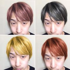 メンズ 外国人風 ブリーチ ストリート ヘアスタイルや髪型の写真・画像