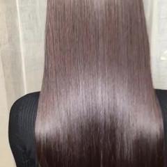 大人かわいい 黒髪 オフィス ナチュラル ヘアスタイルや髪型の写真・画像
