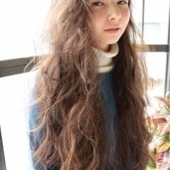 愛され ロング ストレート モテ髪 ヘアスタイルや髪型の写真・画像