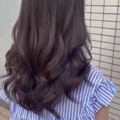 韓国ヘア ゆるナチュラル 髪質改善トリートメント ショコラブラウン ヘアスタイルや髪型の写真・画像