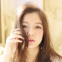 ピュア ハイライト アッシュ 外国人風 ヘアスタイルや髪型の写真・画像