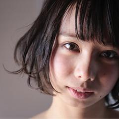 外国人風 ガーリー 暗髪 大人かわいい ヘアスタイルや髪型の写真・画像
