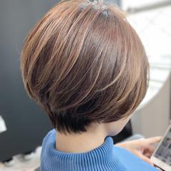 ショート ショートヘア ショートボブ 似合わせカット ヘアスタイルや髪型の写真・画像