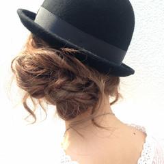 簡単ヘアアレンジ 外国人風 愛され ショート ヘアスタイルや髪型の写真・画像