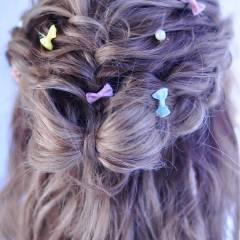 愛され ヘアアレンジ モテ髪 アップスタイル ヘアスタイルや髪型の写真・画像