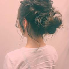 ショート 大人女子 ヘアアレンジ アップスタイル ヘアスタイルや髪型の写真・画像