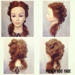 ヘアアレンジ ロング セミロング ツインテール ヘアスタイルや髪型の写真・画像