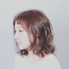 ショートバング 艶髪 ワンカール ストレート ヘアスタイルや髪型の写真・画像