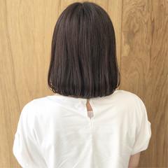 切りっぱなしボブ ナチュラル ショートボブ グラデーションカラー ヘアスタイルや髪型の写真・画像