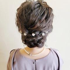 結婚式アレンジ 結婚式 ヘアアレンジ 結婚式ヘアアレンジ ヘアスタイルや髪型の写真・画像
