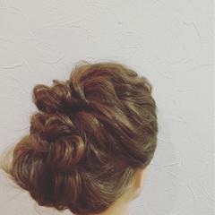 簡単ヘアアレンジ ゆるふわ ショート セミロング ヘアスタイルや髪型の写真・画像