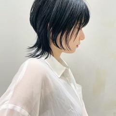 ネオウルフ ブルージュ ショート モード ヘアスタイルや髪型の写真・画像