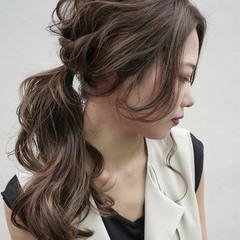 色気 女子会 エレガント 夏 ヘアスタイルや髪型の写真・画像