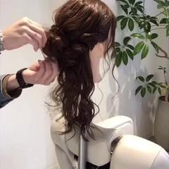 ロング デート ルーズ 大人かわいい ヘアスタイルや髪型の写真・画像