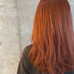 ラベンダーアッシュ ハイライト セミロング ナチュラル ヘアスタイルや髪型の写真・画像