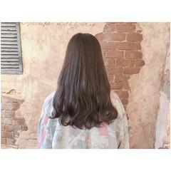 ウェーブ リラックス 簡単ヘアアレンジ ロング ヘアスタイルや髪型の写真・画像