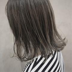 透明感 切りっぱなし ボブ 抜け感 ヘアスタイルや髪型の写真・画像