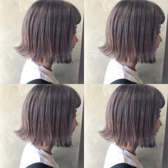 簡単ヘアアレンジ ナチュラル ボブ 韓国ヘア ヘアスタイルや髪型の写真・画像