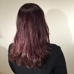 秋 ミディアム セミロング ストリート ヘアスタイルや髪型の写真・画像