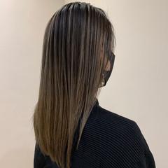 セミロング エレガント 大人可愛い 大人ロング ヘアスタイルや髪型の写真・画像