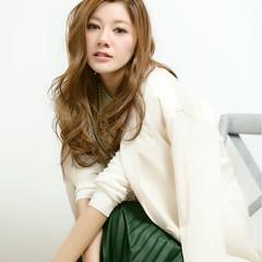 ロング グラデーションカラー 大人かわいい 外国人風 ヘアスタイルや髪型の写真・画像