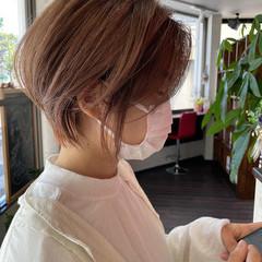 ショート ショートヘア ウルフカット ベリーショート ヘアスタイルや髪型の写真・画像