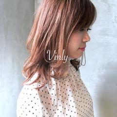 ナチュラル ゆるふわ デート 簡単ヘアアレンジ ヘアスタイルや髪型の写真・画像