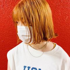 ミニボブ ストリート ショートヘア ショート ヘアスタイルや髪型の写真・画像
