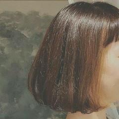 ゆるふわ 大人かわいい ボブ 冬 ヘアスタイルや髪型の写真・画像