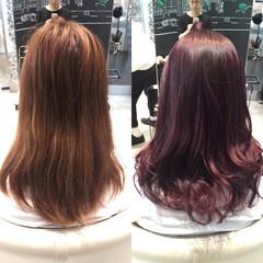 セミロング ゆるふわ 簡単ヘアアレンジ 暗髪 ヘアスタイルや髪型の写真・画像