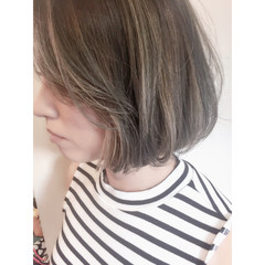 暗髪 色気 ブルージュ ナチュラル ヘアスタイルや髪型の写真・画像