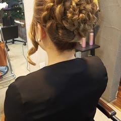 結婚式 フェミニン 大人かわいい ロング ヘアスタイルや髪型の写真・画像