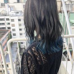 簡単ヘアアレンジ 女子力 セミロング ガーリー ヘアスタイルや髪型の写真・画像