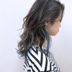 ラベンダーアッシュ ナチュラル 大人かわいい リラックス ヘアスタイルや髪型の写真・画像