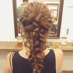 女子会 デート ナチュラル ヘアアレンジ ヘアスタイルや髪型の写真・画像