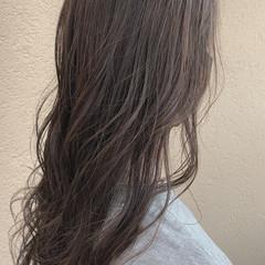 オリーブベージュ オリーブグレージュ グレージュ ナチュラル ヘアスタイルや髪型の写真・画像