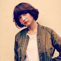 外国人風 前髪あり ハイライト ナチュラル ヘアスタイルや髪型の写真・画像