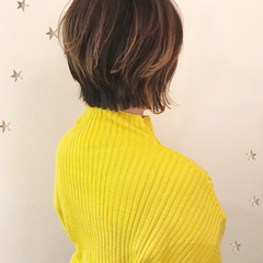 大人女子 こなれ感 ストリート ショート ヘアスタイルや髪型の写真・画像