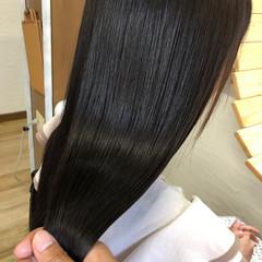 髪質改善 ダメージレス 艶髪 ロング ヘアスタイルや髪型の写真・画像