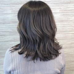 透明感 艶カラー フェミニン イルミナカラー ヘアスタイルや髪型の写真・画像