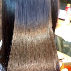 髪質改善 髪質改善トリートメント 最新トリートメント 縮毛矯正 ヘアスタイルや髪型の写真・画像