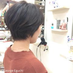 ボブ パーマ モード 簡単 ヘアスタイルや髪型の写真・画像