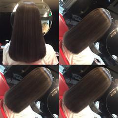 セミロング ストリート メッシュ ハイトーン ヘアスタイルや髪型の写真・画像