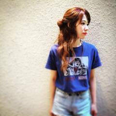 外国人風 ストリート ヘアアレンジ ゆるふわ ヘアスタイルや髪型の写真・画像