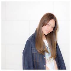 暗髪 ストリート ウェットヘア フェミニン ヘアスタイルや髪型の写真・画像