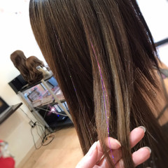 ロング ガーリー 韓国ヘア イベント ヘアスタイルや髪型の写真・画像