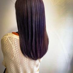 外国人風 ラベンダーアッシュ ヴァイオレット 外国人風カラー ヘアスタイルや髪型の写真・画像